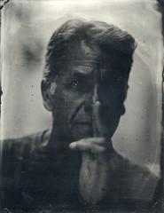 Gilles (Troisime type) Tags: portrait collodion collodionhumide busch pressman 4x5 wetplate 35x45