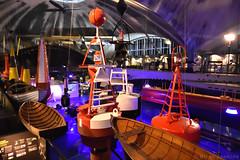 Boats and Buoys (Bri_J) Tags: lennusadam seaplaneharbour tallinn estonia nikon d7200 museum estonianmaritimemuseum rowingboat buoy