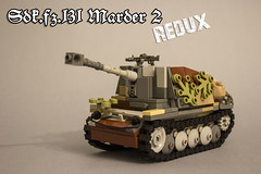 Sdk.fz_131 Marder 2 -REBUILT- (kr1minal) Tags: lego moc diorama tank war world ww2 2 ii brickmania model nazi german wehrmacht