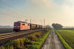 DBC 151 058 - bei Lindhorst (Pau Sommerfeld Acebrn) Tags: vornhagen lindhorst 151058 151 baureihe151 db dbcargo kbs370 eisenbahn kraftpakete zge railway 2015 vzg1700