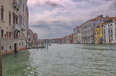 Grand Canal (HDR) - Venice 2016 (Reddad Ford) Tags: 2016 italy july venice boat canal hot humid taxi water