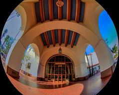Los Angeles Union Station, HDR, 15 March 2016 (SDSk8r) Tags: losangelescountycities losangelescounty losangelesunionstation americanstates californiacounties losangeles downtownlosangeles areasinlosangeles trainstations california typeofimage countries hdr unitedstates railroads losangelesunionpassengerterminal dtla us