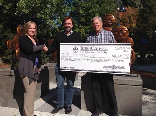 Major tourism funding for Whistler