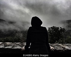 Photo accepted by Stockimo (vanya.bovajo) Tags: stockimo iphonegraphy iphone darkness dark mist frog mystic person adult alone lonely mysterious scary scared looking exploring mountains mountain forest trees nature lost