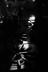 Stove and Sunlight (trustytrout) Tags: blackandwhite manmade newyork stove sunlight northeast