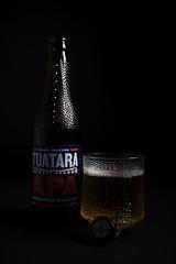 Devil's brew (Markus Jansson) Tags: beer productphotography softbox dark lowkey bottle glass offcameraflash rimlight paleale craftbeer