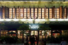 Cafe facade at night (A. Wee) Tags: cafebatavia cafe jakarta  indonesia  kotatua night facade exterior