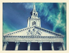 St.Martins in the Fields (tezzer57) Tags: stmartinsinthefields london londonist uk england church spire sky arty