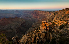 Last Light (m00chas) Tags: canon canoneos6d canon1635mm28l grandcanyon arizona navajopoint desertview watchtower sunset lastlight coloradoriver