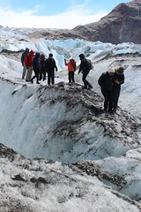 On the Viedma glacier (10b travelling) Tags: world patagonia lake heritage southamerica argentina argentine climb site nationalpark hike unesco worldheritagesite glacier patagonie americas elcalafate glaciares parquenacional losglaciares elchalten argentinien patagonien viedma peopleset lakeviedma wiedma