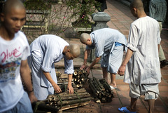 Young monks working in Hu (William J H Leonard) Tags: wood people asian student asia southeastasia vietnamese candid buddhist prayer praying working buddhism vietnam monks meditation hue buddhisttemple prayers buddhists buddhistmonks buddhistmonk hu southeastasian northernvietnam centralvietnam youngmonk youngmonks youngbuddhistmonk earthasia youngbuddhistmonks buddhiststudent