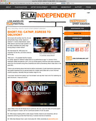 Film Independent - Short Fix - Catnip: Egress to Oblivion?