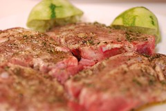 marinating lamb chops (gadgetgeek) Tags: lamb shadybrookfarm