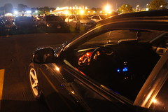 DSC03341 (Photography by BNC) Tags: auto car vw night honda photography long exposure nissan jeep flash mob toyota mazda audi acura meet mitsubishi jdm