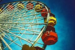 (mi..chael) Tags: life travel usa colors analog la lca lomography santamonica toycamera lofi slidefilm crossprocessing 135 agfa vignette precisa ct100