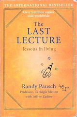 cover picture of the book - the last lecture by randy pausch