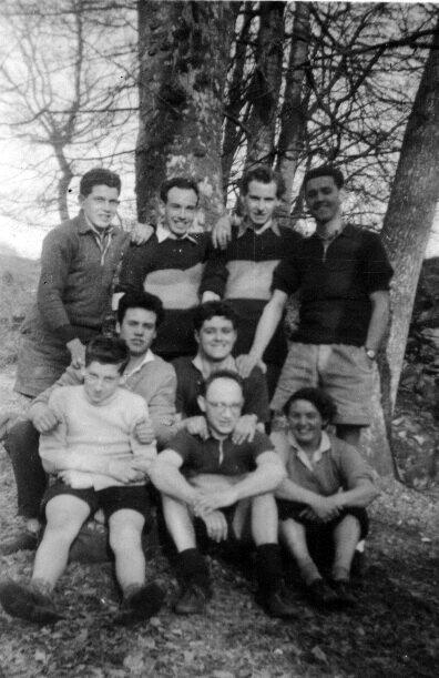 Douglas Cycling Club 1950s