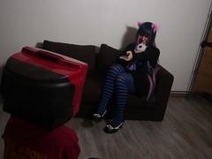Aoi Sora Cosplay Party 2 - Le Loft - Marseille - 2013-01-27- P1540117 (styeb) Tags: party loft tv marseille cosplay convention tele janvier sora aoi 2013