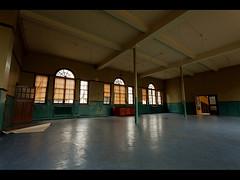 Open Doors (Lee|Ratters) Tags: school light urban abandoned college window canon explore l blinds derelict 1740mm ue 5dmk2