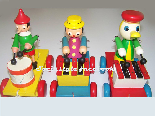 Wooden toys for small children