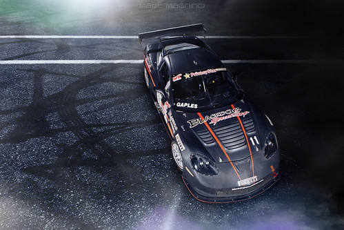 BlackDog SpeedShop Pirelli World Challenge Corvette