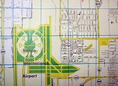 Tampa FL 1968 (davecito) Tags: green yellow catchycolors tampa florida map ephemera planning transportation cartography thesouth 1960s geography roadmap urbanplanning drafting gulfcoast streetmap citymap oldmap hillsboroughcounty thesoutheast highwaymap dolphmap
