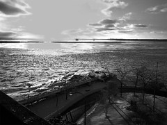 """Looking into the winter sun on Lake Erie • <a style=""""font-size:0.8em;"""" href=""""http://www.flickr.com/photos/59137086@N08/8460782062/"""" target=""""_blank"""">View on Flickr</a>"""