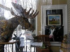 Pastoral Pals (mudder_bbc) Tags: sculpture art vermont newengland figures 2009 valentinesday bennington moosefest benningtonpotters