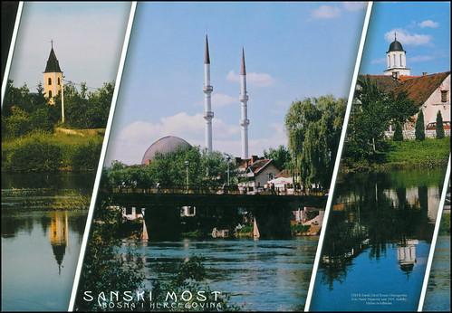5783 R Sanski Most Bosna i Hercegovina Foto Samir Sinanović sent 2005. Anđelki Melisa za rođendan