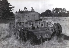 Tamed Beasts - Help Id this one!! (Krueger Waffen) Tags: vintage war tank wwii 1940s armor ww2 armour armored waffenss tanks panzer secondworldwar afv worldwartwo armoredvehicle armoured armoredcar wehrmacht pzkpfw secondworldwartanks worldwartwotanks tanksofthesecondworldwar