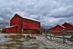 Taneytown, MD Barn (Forsaken Fotos) Tags: snow barn
