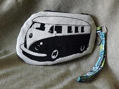 Microbus Wristlet - Front (made by mauk) Tags: ink screenprint wristlet yudu mademymauk maukrulz