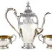 2073. An Assembled Sterling Silver Coffee Service