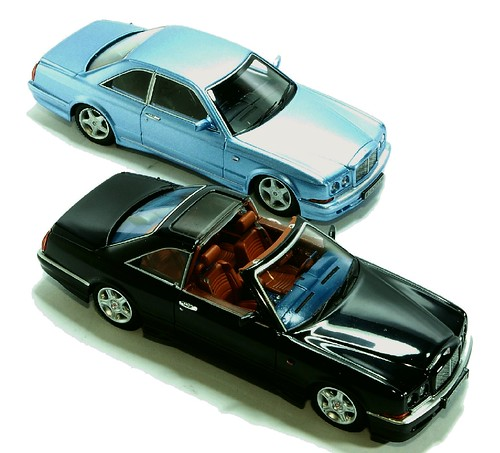 Minichamps Bentley Continental T & SC