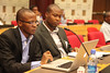Albert Mwangi - Bio-Innovate Africa and Jonathan Odhong - ISAAA AfriCenter