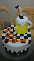 Bolo Chopp - Jul/12 (Luciana Paiva (Fortaleza-CE)) Tags: pasta americana bolo decorado