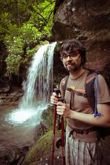Bobby - Smoky Mountain waterfall  - Grotto Falls (Tmrrw Never Knows) Tags: park mountain waterfall tennessee hike falls national grotto gatlinburg smoky