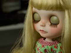 her lids and lashes (chaoskatenkosmos) Tags: doll lashes carving spell midnight blythe custom lids rbl