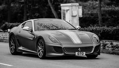 Ferrari 599 GTO - GTO (Black Cygnus Photography) Tags: blackandwhite cars hongkong gto autos newterritories greycars italiansportscars canon5dmk3 march2013 keithmulcahy ferrarri599gto