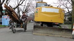Moving Machines (gregraisman) Tags: recycled tricycle rad trike tandem velo fahrrad bikemove
