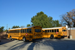A-7803 & A-6502 (crown426) Tags: california riverside thomas bluebird schoolbus aare cng allamerican rearengine compressednaturalgas hdx aafe safetliner a3re aerocoachtransportation