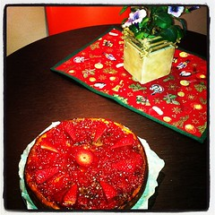 Ceesecake (MchrLr) Tags: dolce torta dolci fragole ceesecake