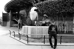 Wall.e & Eve & Me! (lorenzoviolone) Tags: world park city trip travel bw white holiday black paris france green self garden relax fun blackwhite nikon holidays raw disneyland environment leisure disneylandparis selfie d3100 nikond3100 lorenzoviola portaitlorenzoviolaraw