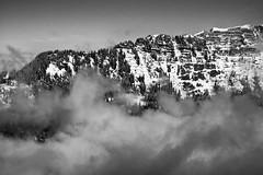 Ming Hiver 011 (byming) Tags: ski montagne noiretblanc hiver chamrousse pralognanlavanoise