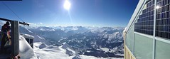 Rothorn (ennarennid) Tags: blue sky mountain snow ski switzerland amazing view lenzerheide rothorn