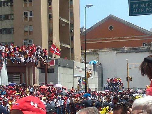 Sepelio de Hugo Chavez