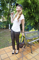 Feb 23 (2) (the joy of fashion) Tags: fashion style baseballhat outfitoftheday fashionblog ootd fashionblogger leopardjeans panamafashion