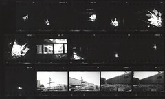SoCal (Area Bridges) Tags: california blackandwhite film paper print pentax scan scanned contactsheet 1990 mesuper proofsheet