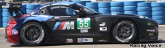 Rahal Letterman Lanigan Racing #55 BMW Z4 GTE 12 Hours of Sebring ALMS 2013 (The Racing Voice) Tags: bmw z4 gt alms americanlemansseries 12hoursofsebring sebringinternationalraceway racingvoice rahallettermanlaniganracing