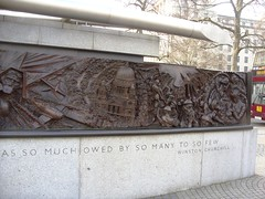 Blitz Memorial (MJ_100) Tags: city uk greatbritain england london westminster thames river memorial war unitedkingdom britain capital wwii ww2 airforce blitz embankment raf worldwar2 secondworldwar royalairforce fightercommand